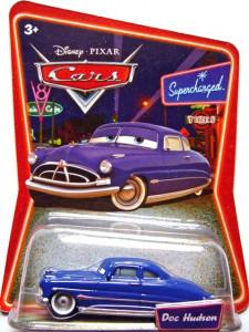CARS (Auta) - Doc Hudson (doktor Hudson) SUPERCHARGED