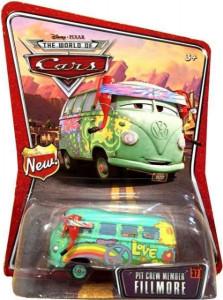 CARS (Auta) - Pit Crew Member Fillmore - THE WORLD OF CARS - poškozený obal