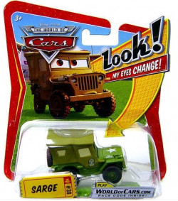 CARS (Auta) - Sarge (Serža) - LOOK MY EYES CHANGE (mrkací) - WORLD OF CARS