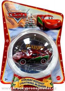 CARS (Auta) - Holiday Hotshot Lightning McQueen (vánoční Blesk) - poškozený obal