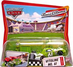 CARS (Auta) - Pit Race-Off Vitoline No. 61 - Race O Rama - výrazně poškozený obal