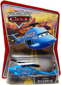 CARS (Auta) - Dinoco Helicopter WORLD OF CARS