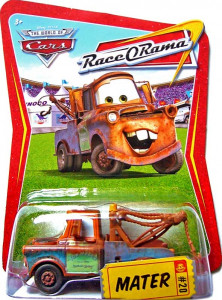 CARS (Auta) - Mater (Burák) Race O Rama