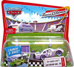 CARS (Auta) - Retread No. 79 Pit Row Race-Off - Race O Rama