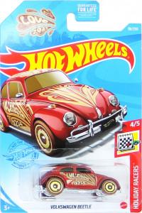 HOT WHEELS - Volkswagen Beetle (red - Valentine)