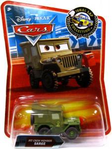 CARS (Auta) - Pit Crew Member Sarge (Serža) - Final Lap