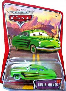 CARS (Auta) - Edwin Kranks - The World of Cars - poškozený obal