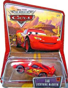 CARS (Auta) - TAR McQueen (Blesk McQueen) - THE WORLD OF CARS - poškozený obal
