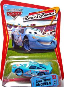 CARS (Auta) - Dinoco Lightning McQueen (Blesk Dinoco) Race O Rama