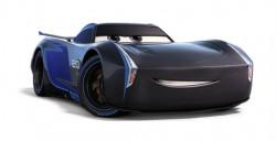 CARS 3 (Auta 3) - Jackson Storm Hauler (délka cca 23 cm) + Jackson Storm (Jackson Hrom)