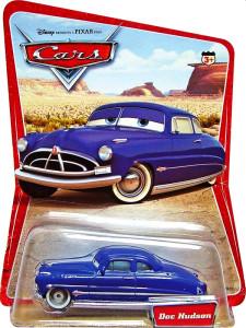 CARS (Auta) - Doc Hudson (doktor Hudson) - SBĚRATELSKÝ - 1. SÉRIE - poškozený obal