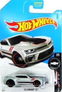 HOT WHEELS - '16 Camaro SS (silver)