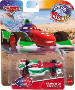 CARS (Auta) - Color Changers Francesco Bernoulli (měnící barvu)