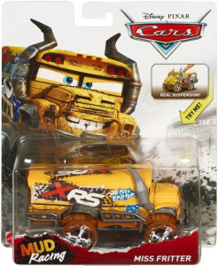 CARS 3 Deluxe (Auta 3) - Miss Fritter (paní Bučitelka) - XRS Mud Racing