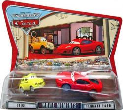 CARS (Auta) - Luigi + Ferrari F430 - The World of Cars
