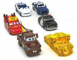 CARS (Auta) - 5pack To Protect and Serve Set