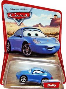 CARS (Auta) - Sally - SBĚRATELSKÁ - 1. SÉRIE - poškozený obal