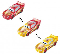 CARS (Auta) - Color Changers Lightning McQueen (Blesk) - červená-žlutá