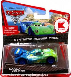 CARS 2 (Auta 2) - Carla Veloso Rubber Tires (gumová kolečka) - poškozený obal