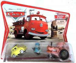 CARS (Auta) - Luigi + Guido + Tractor - 1. série - sběratelská rarita