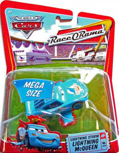 CARS Deluxe (Auta) - Storm Lightning McQueen - Race O Rama