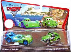 CARS 2 (Auta 2) - Carla Veloso + Carla's Crew Chief (Cruz Besouro)