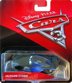 CARS 3 (Auta 3) - Jackson Storm Nr. 20 (Jackson Hrom) - výrazně poškozený obal
