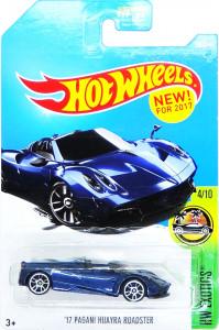 HOT WHEELS - '17 Pagani Huayra Roadster (darkblue)