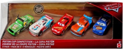 CARS 3 (Auta 3) - 5pack Piston Cup Competition