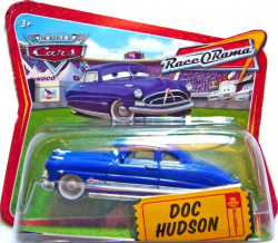 CARS (Auta) - Doc Hudson (doktor Hudson) - Race O Rama Short Card