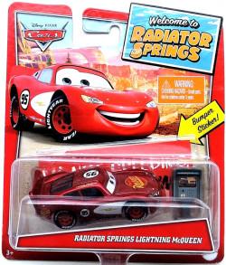 CARS (Auta) - Radiator Springs McQueen (Blesk McQueen) - Radiator Springs