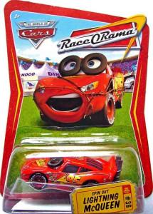 CARS (Auta) - Spinout McQueen - Race O Rama - poškozený obal
