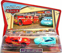 CARS (Auta) - Kori Turbowitz + Lightning McQueen - The World of Cars - přelepený obal