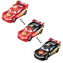 CARS (Auta) - Color Changers Lightning McQueen (Blesk) - červená-černá