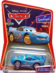 CARS (Auta) - Bling Bling McQueen (Blesk Dinoco) SUPERCHARGED