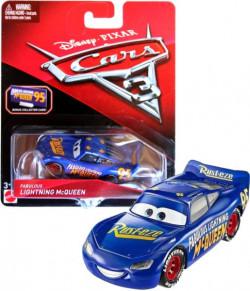 CARS 3 (Auta 3) - Fabulous Lightning McQueen + sběratelská karta na stojánku
