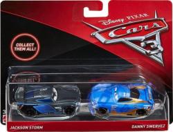 CARS 3 (Auta 3) - Jackson Storm (Jackson Hrom) + Daniel Swervez - poškozený obal
