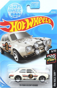 HOT WHEELS - '70 Ford Escort RS1600