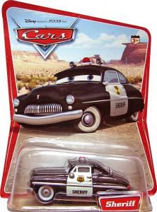 CARS (Auta) - Sheriff (Šerif) - SBĚRATELSKÝ - 1. SÉRIE