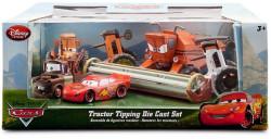 CARS (Auta) Tractor Tipping Set (kombajn Frank, Tractor...)