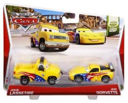 CARS (Auta) - Jeff Gorvette + John Lassetire - mírně poškozený obal
