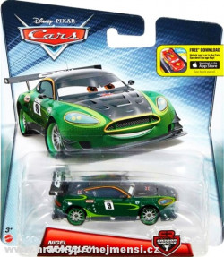 CARS 2 (Auta 2) - Nigel Gearsley Carbon Racers