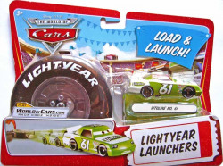 CARS (Auta) - Vitoline No. 61 Lightyear Launchers - The World of Cars