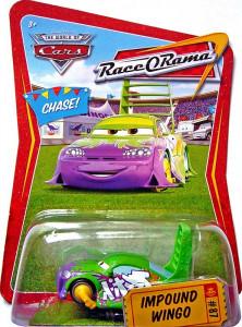 CARS (Auta) - Impound Wingo - Race O Rama (Spojlík s botičkou na kole)