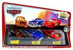 CARS (Auta) Fred + Fabulous Hudson Hornet + Smell Swell McQueen (Story Tellers))