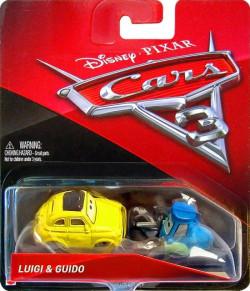 CARS 3 (Auta 3) - Luigi + Guido - přelepený obal