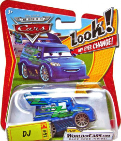 CARS (Auta) - DJ - LOOK MY EYES CHANGE (mrkací)