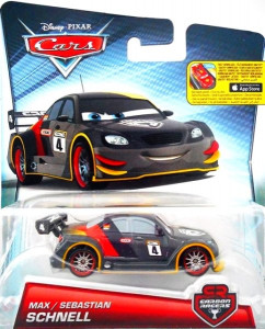 CARS 2 (Auta 2) - Max Schnell Carbon Racers
