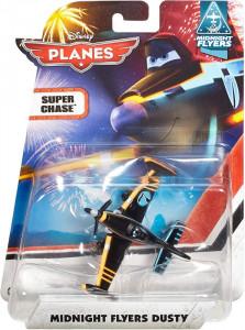 PLANES (Letadla) - Midnight Flyers Dusty (Prášek) - SUPER CHASE (exkluzivní model) - přelepený obal