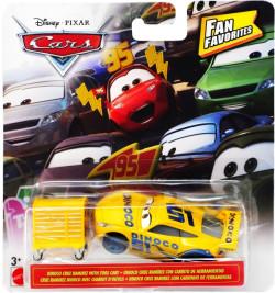 CARS 3 (Auta 3) - Dinoco Cruz Ramirez with Tool Cart (Cruz Ramirézová) - FAN FAVORITES